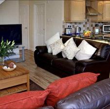 Oak Lodge living room
