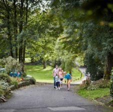 hengar facilities, family walking