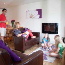 family in hengar bungalow