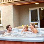 family hot tub