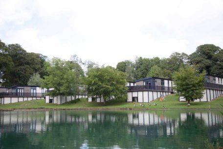 waterside cabins, fishing lake