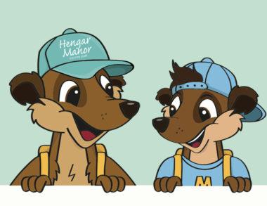 Sandy & Max Meerkats